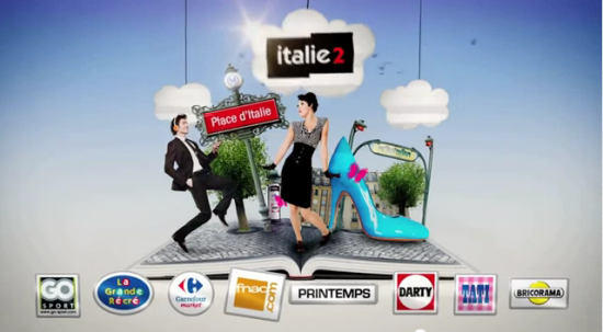 "My ""Italie 2"" Advertisement"