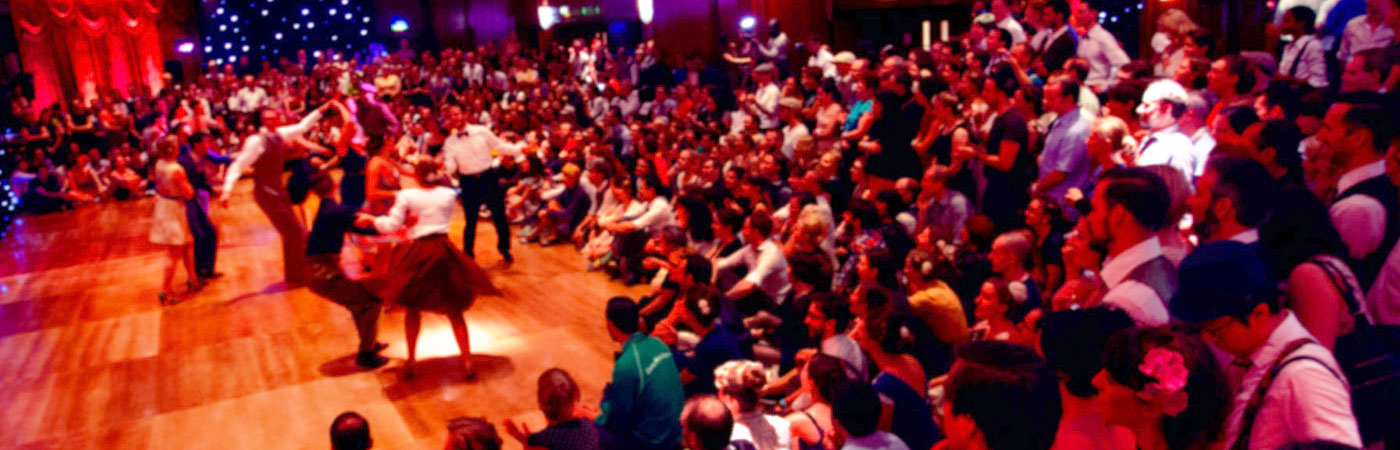 Sharon Davis presents the European Swing Dance Championships 2015